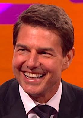 IF ACTOR TOM CRUISE BOUGHT A LOTTERY TICKET FOR EVERY CRAZY STUNT HE PLAYED, HE WOULD BE A VERY RICH MAN