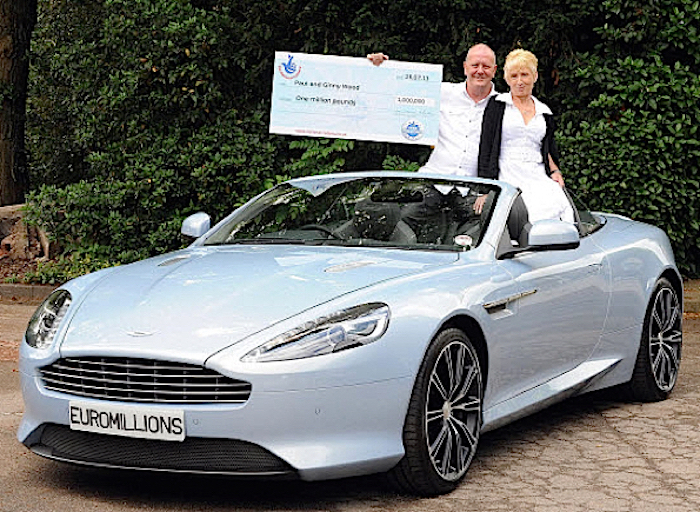 What Do These Car Crazy Lottery Winners Have Sitting In Their