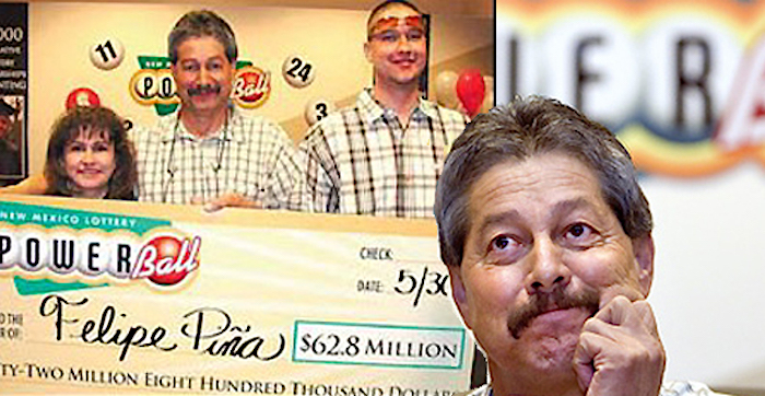 Rub this US Powerball winner's tattoo and you never know