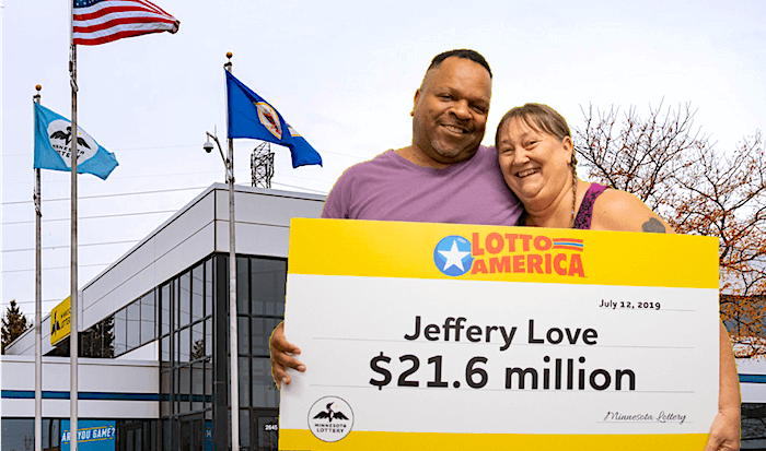 Winner's dream to visit Minnesota Lottery office finally realised
