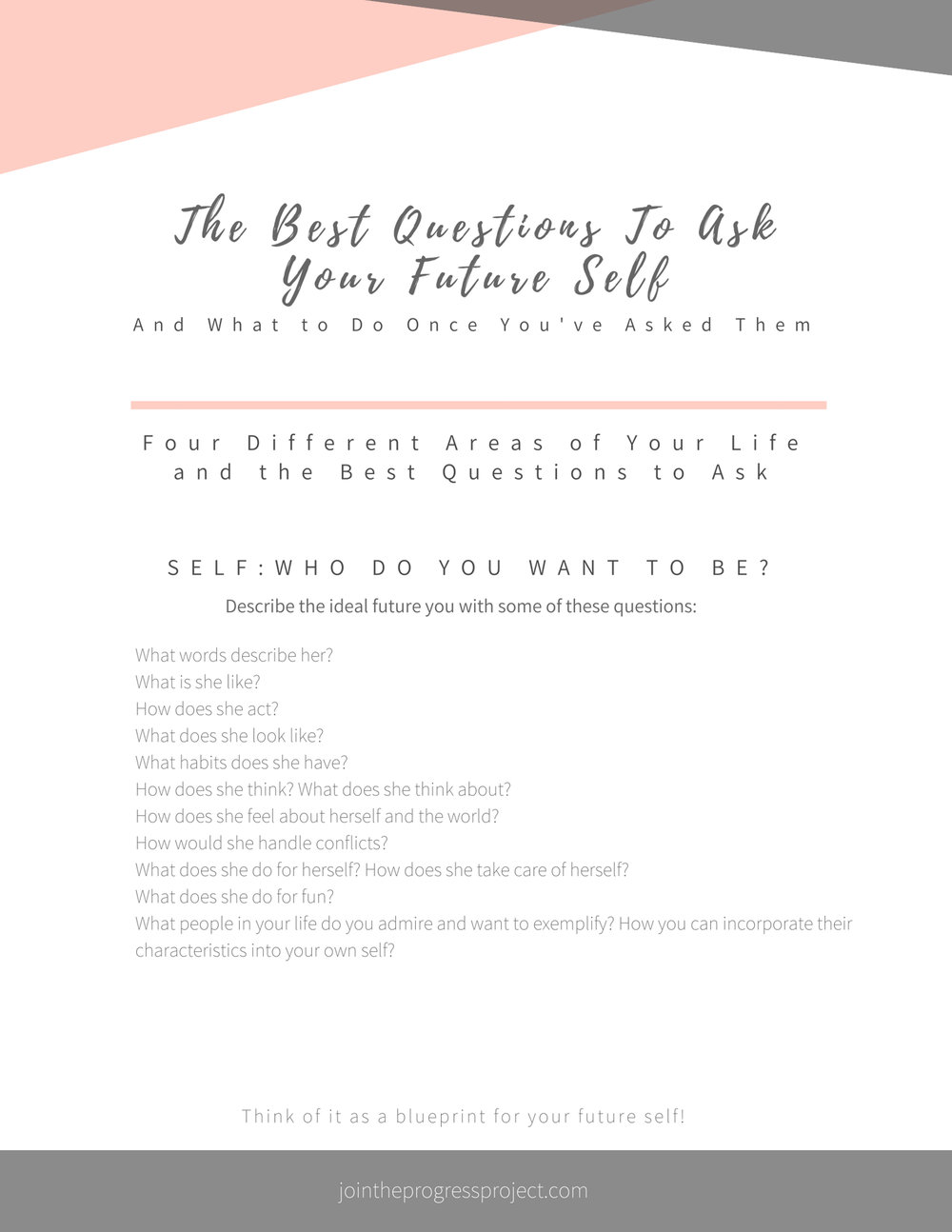 The Best Questions to Ask Your Future Self and What to Do Once You've Asked Them