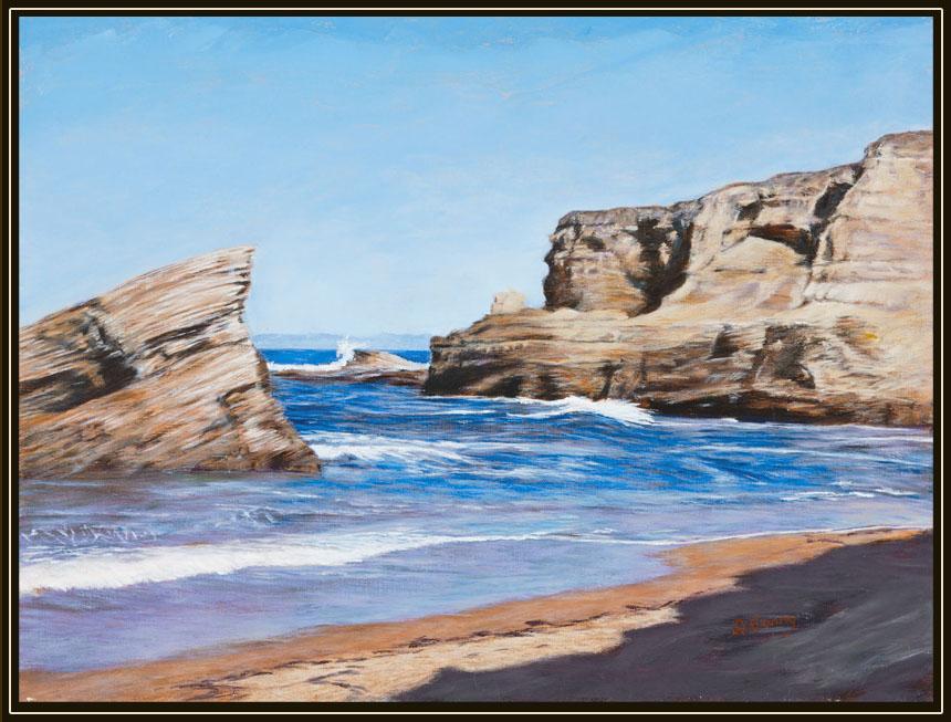 """Coon Creek Beach""   by Dennis Curry"