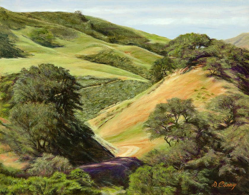 """Hill Ranch  ""   by Dennis Curry"