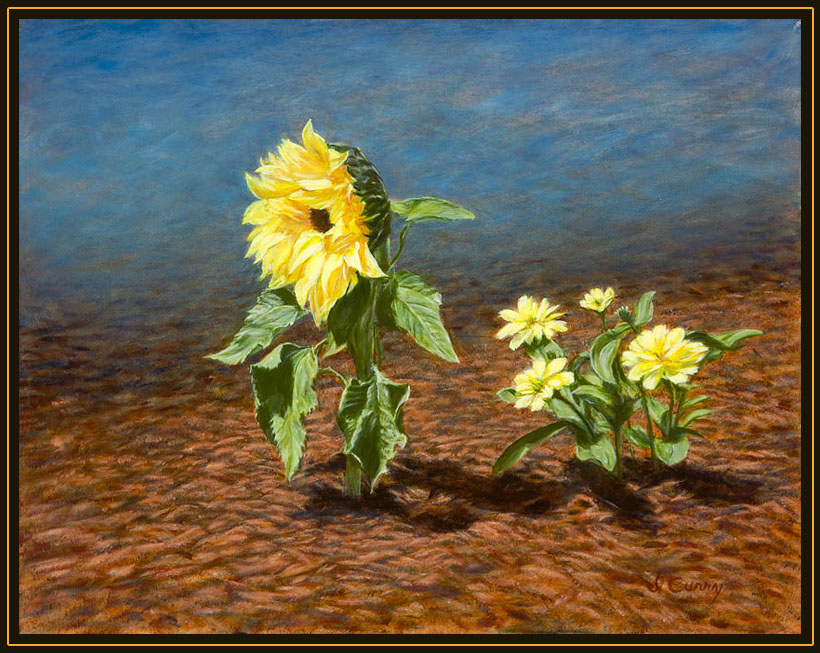 """""""Facing the Sun"""" by Dennis Curry"""