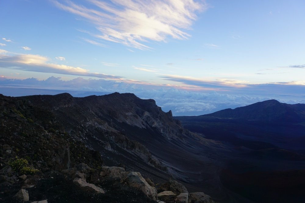Sunrise over Haleakala crater on Maui, Hawaii. boldlygotravel.com