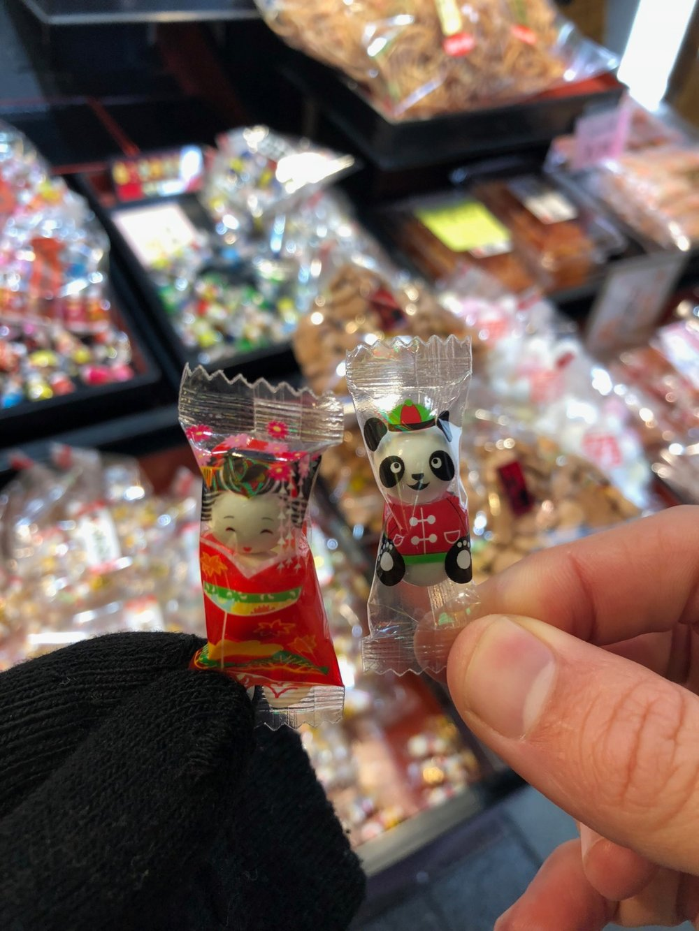 Even tiny little mints are put in the cutest packaging at Nishiki market in Kyoto, Japan. boldlygotravel.com