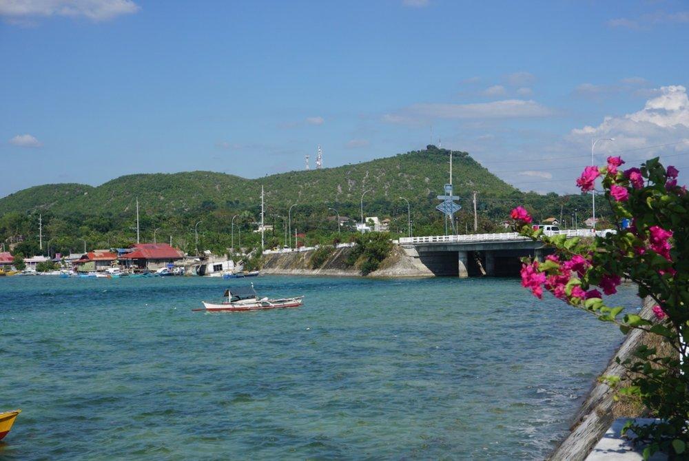 View of Bohol seabridge.