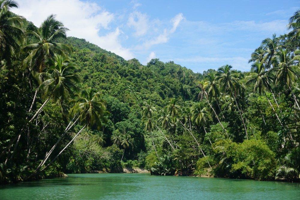 Loboc River cruise in Bohol, Philippines.