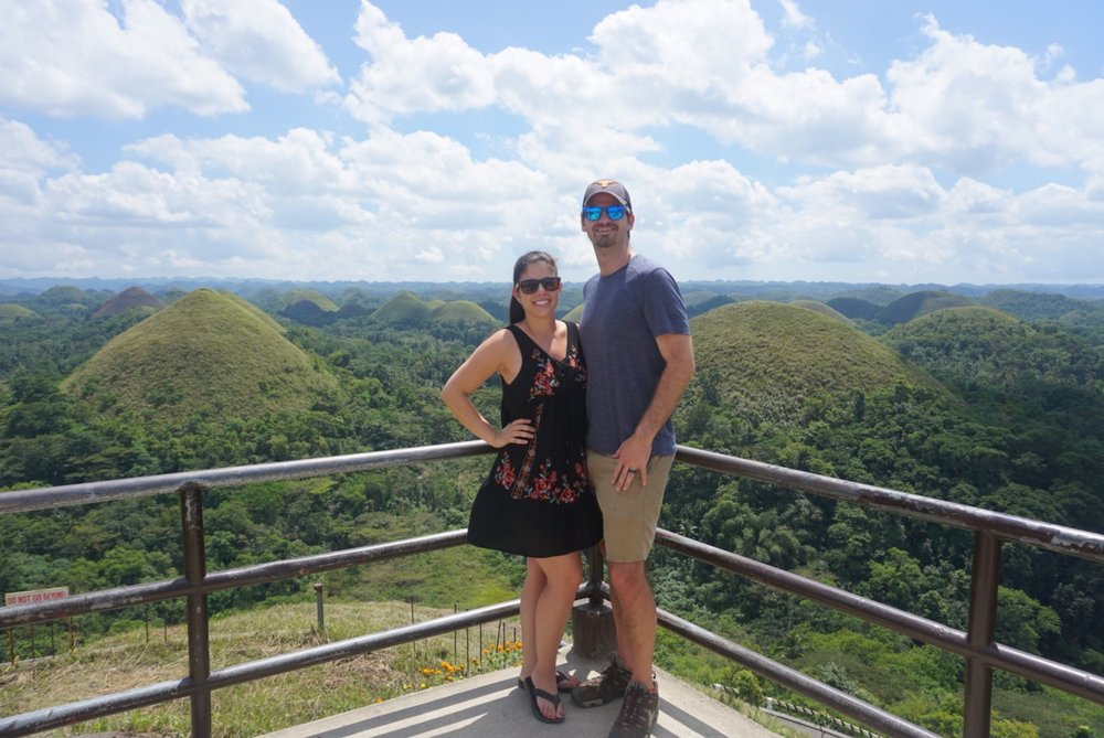 Matt and Kelly visit the UNESCO World Heritage Site of the Chocolate Hills on Bohol, Philippines.
