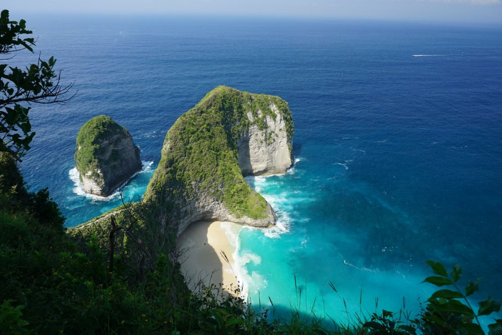 View of T Rex bay at Nusa Penida, Indonesia. boldlygotravel.com
