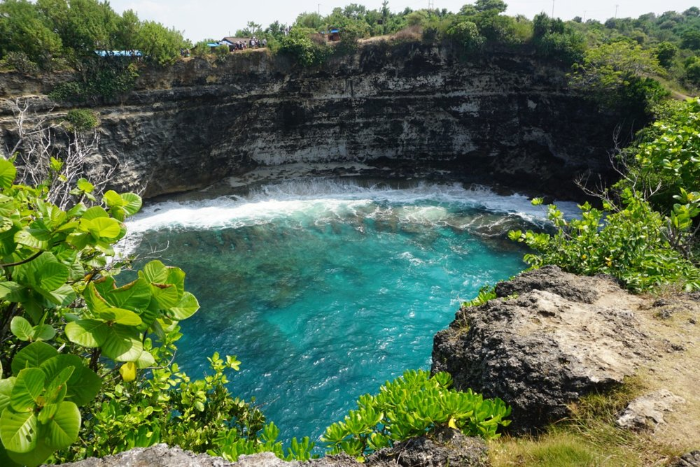 waters at broken beach on Nusa Penida. boldlygotravel.com