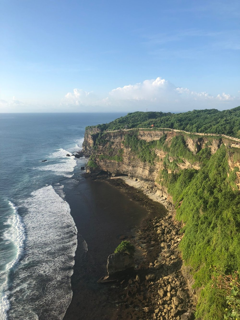 The Cliffs of Uluwatu, Bali. boldlygotravel.com