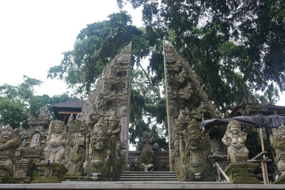 Temple in Ubud, Bali. boldlygotravel.com