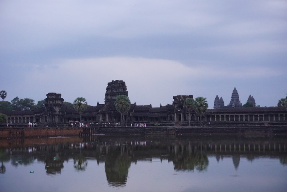 Angkor Wat one of the ancient wonders of the world at sunrise, Cambodia. boldlygotravel.com