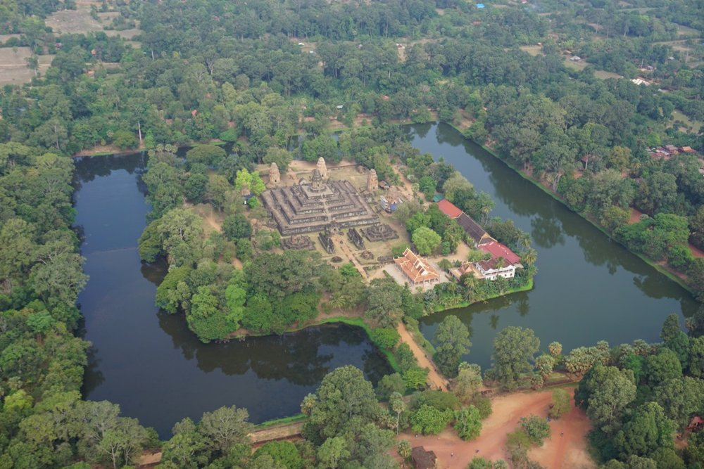one of the many Angkor ruins in the Siam Reap region of Cambodia. boldlygotravel.com