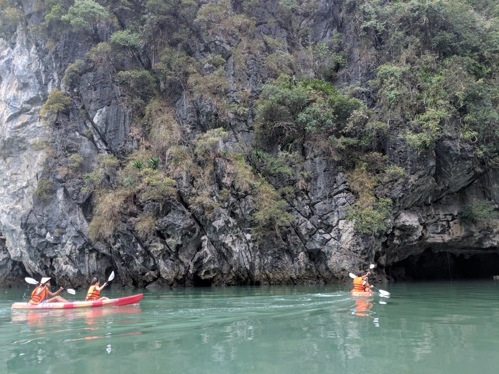 Kayaking around caves.jpg
