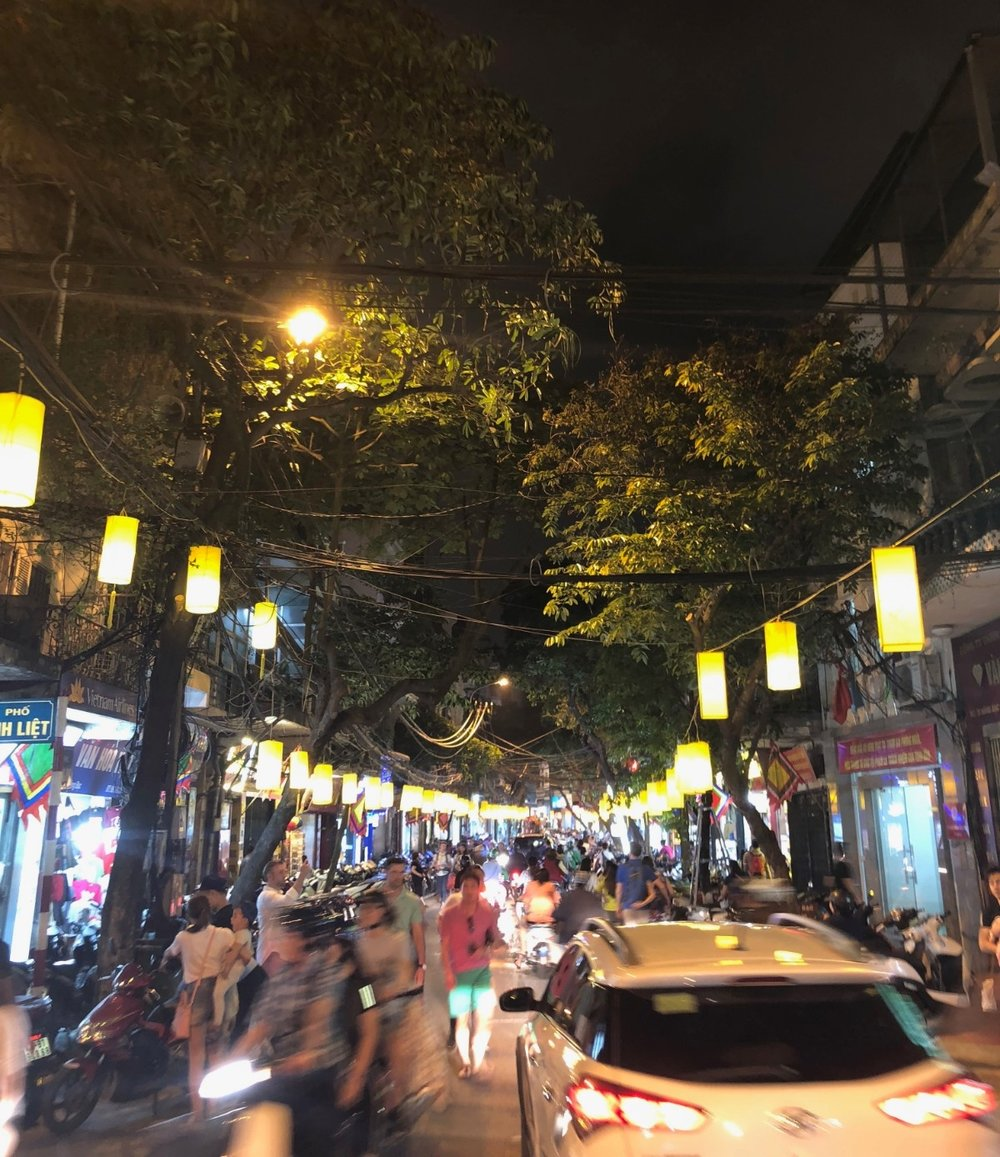 the very busy and chaotic streets of Vietnam. boldlygotravel.com