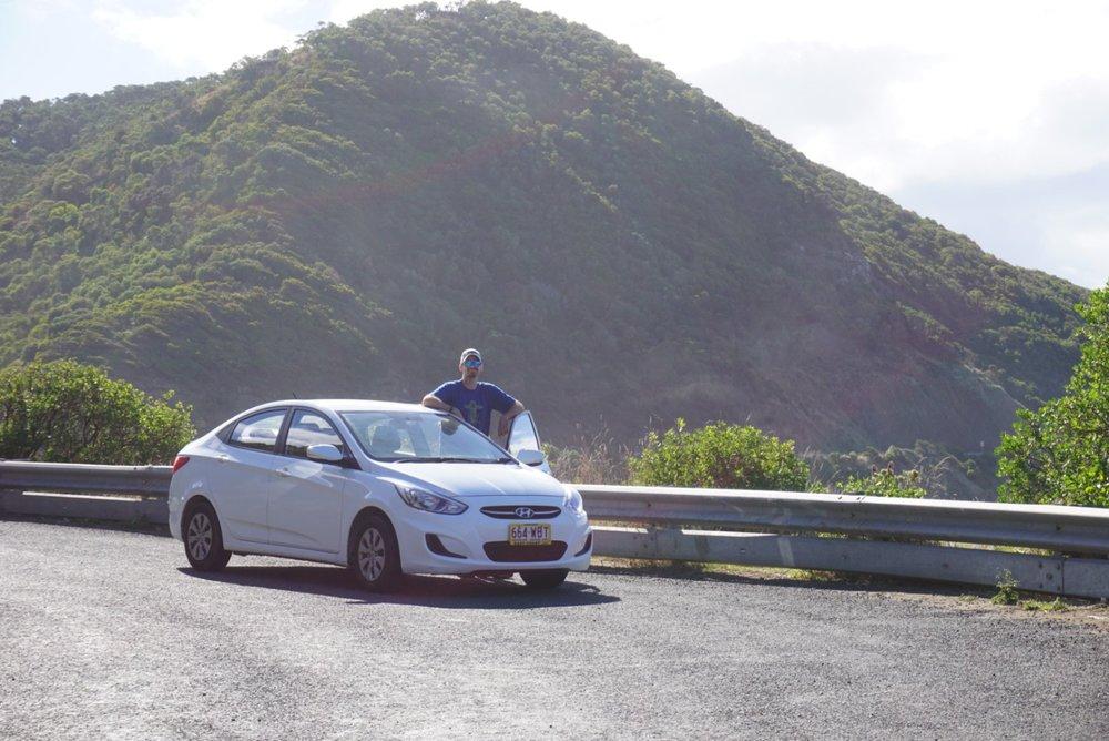 Rental car on the Great Ocean Road, Australia. Boldlygotravel.com