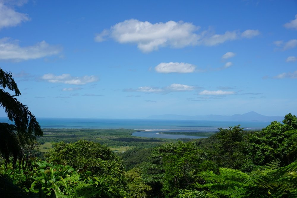 View of Daintree, Australia. boldlygotravel.com