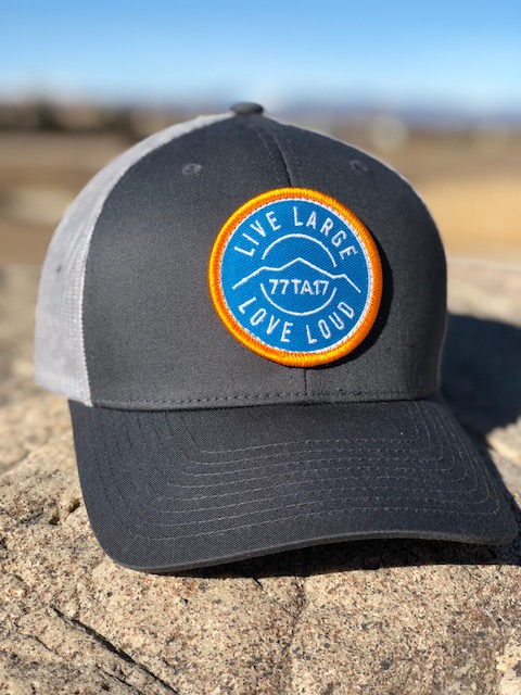 Vail - Charcoal Grey Mesh Strap Back — LiveLargeLoveLoud.org 473ae729d2a