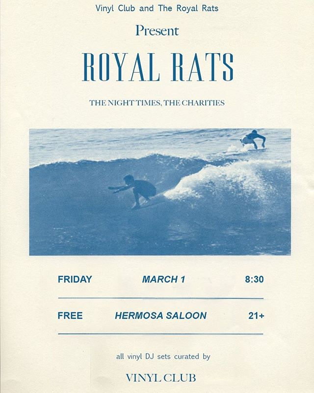 Come out Friday night @thehermosasaloon we'll be playing with some cool bands @thecharities_band and @the.night.times #livemusic #hermosabeach #ca