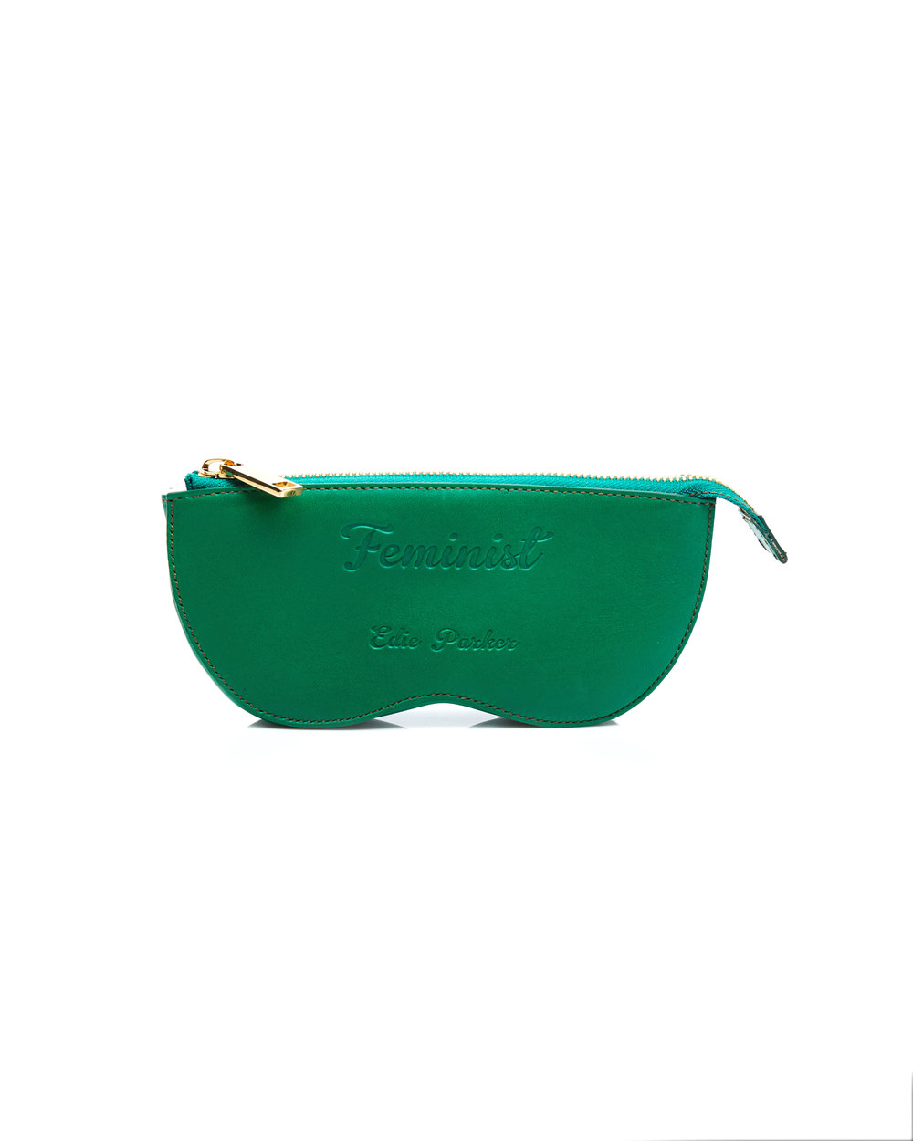 Edie Parker – Eye Glass Case, Green