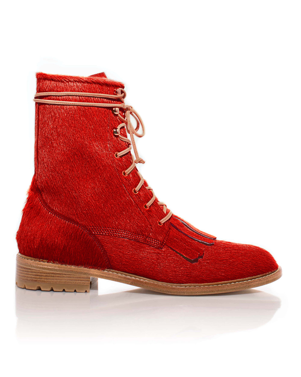 Brother Vellies – Unity Boot, Red