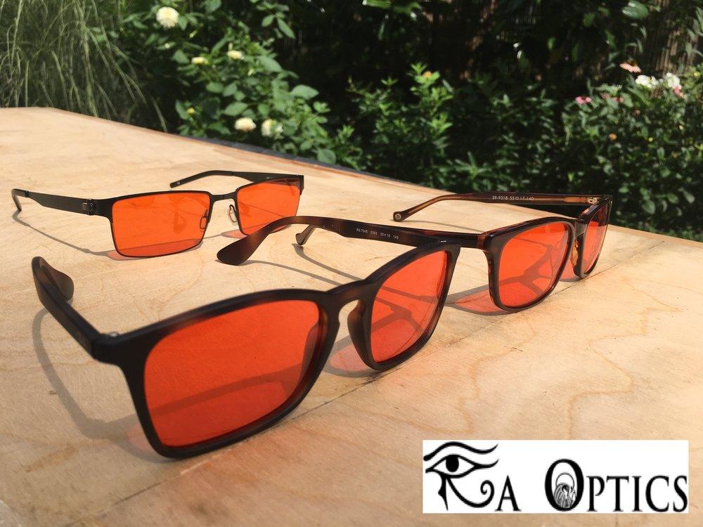 RaOptics - Custom blue light blocking glasses (Use the