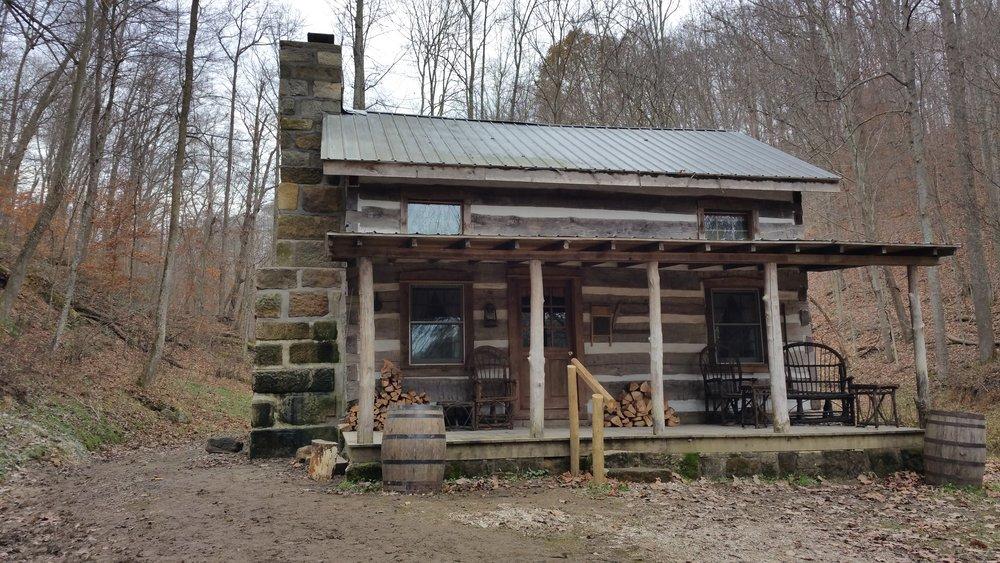 Log cabin work