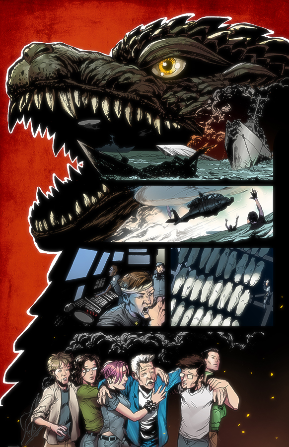 Godzilla Rulers of Earth #9 IDW