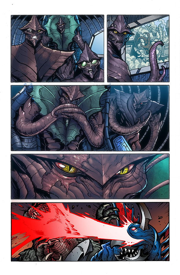 Godzilla Rulers of Earth #7, IDW