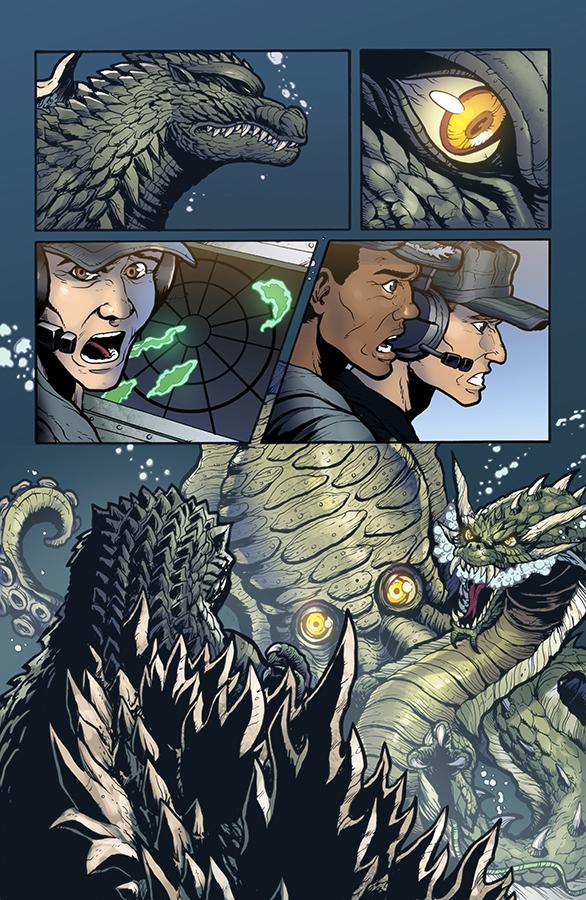 Godzilla Rulers of Earth #11, IDW