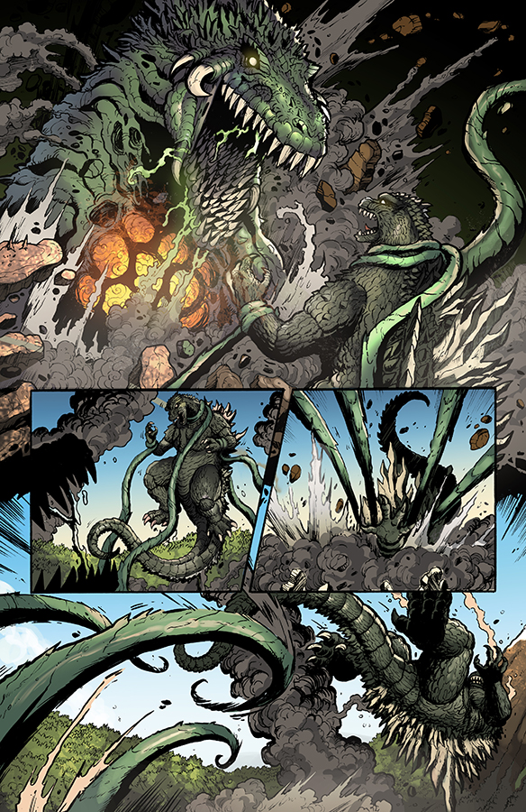 Godzilla Rulers of Earth #8, IDW