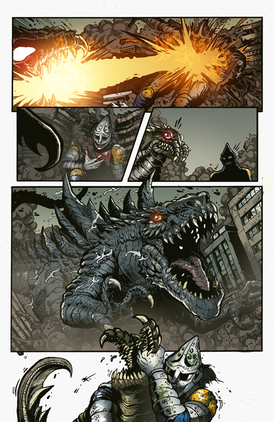 Godzilla Rulers of Earth #25, IDW