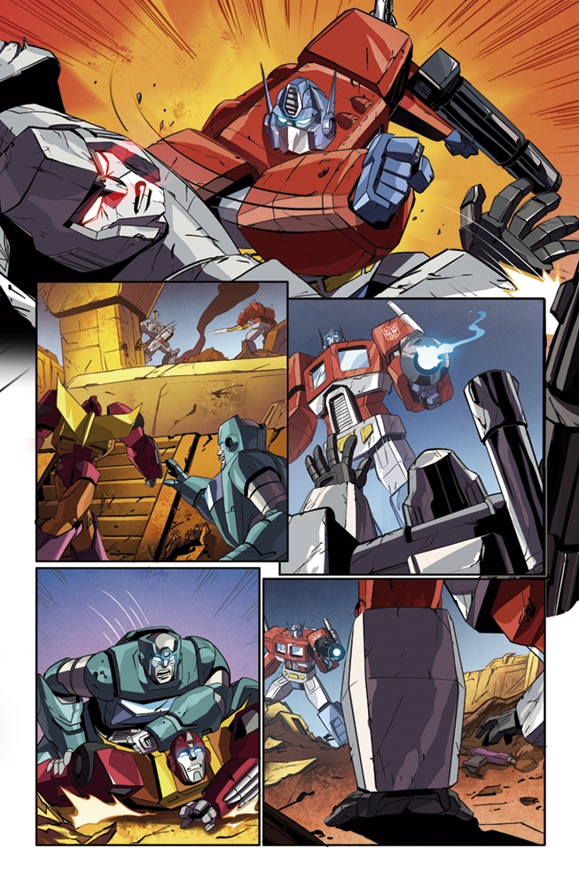 Transformers Deviations, IDW