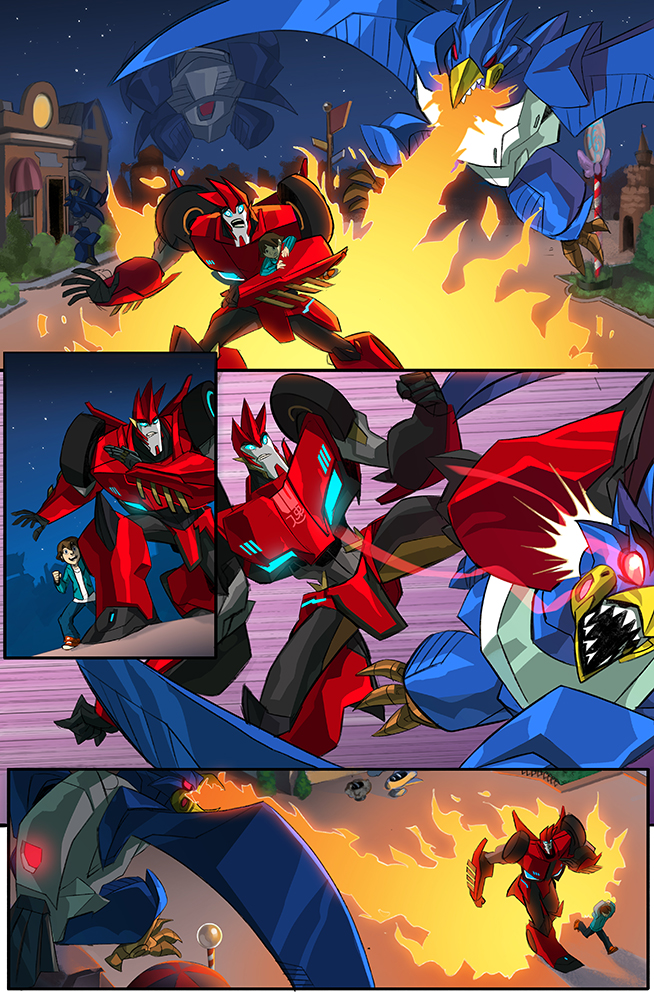 Robots in Disguise #0 (Free Comic Book Day issue), IDW