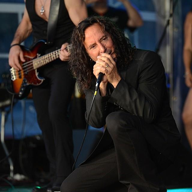 Steve Augeri, former lead singer of Journey