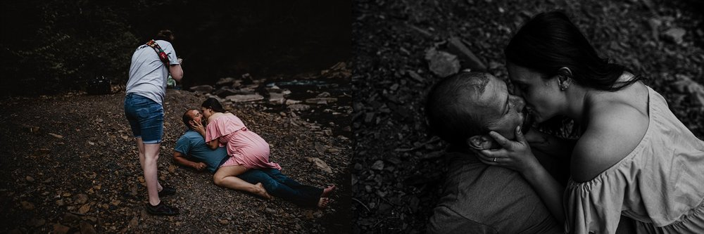 Left photo was taken and edited by Garnet Dahlia Photography. Right image was taken and edited by me.