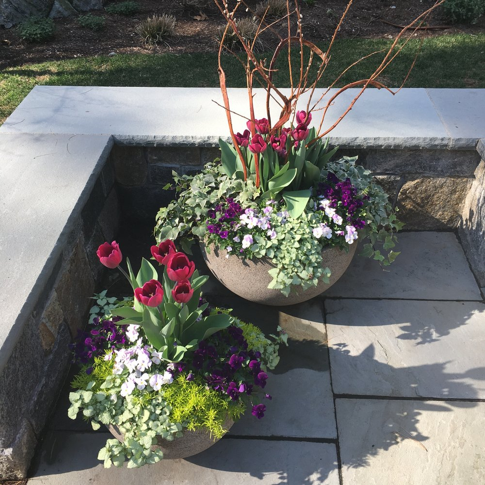Exterior Floral Design -