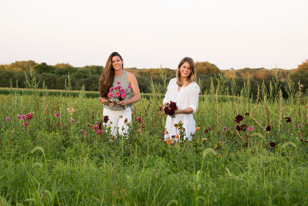 The Sisters - Hattie and Sarah grew up on a farm in Little Compton, Rhode Island. Their summers consisted of working for their parents...