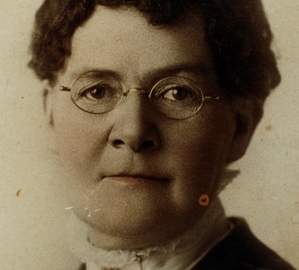 DR. MARTHA HUGHES CANNON.