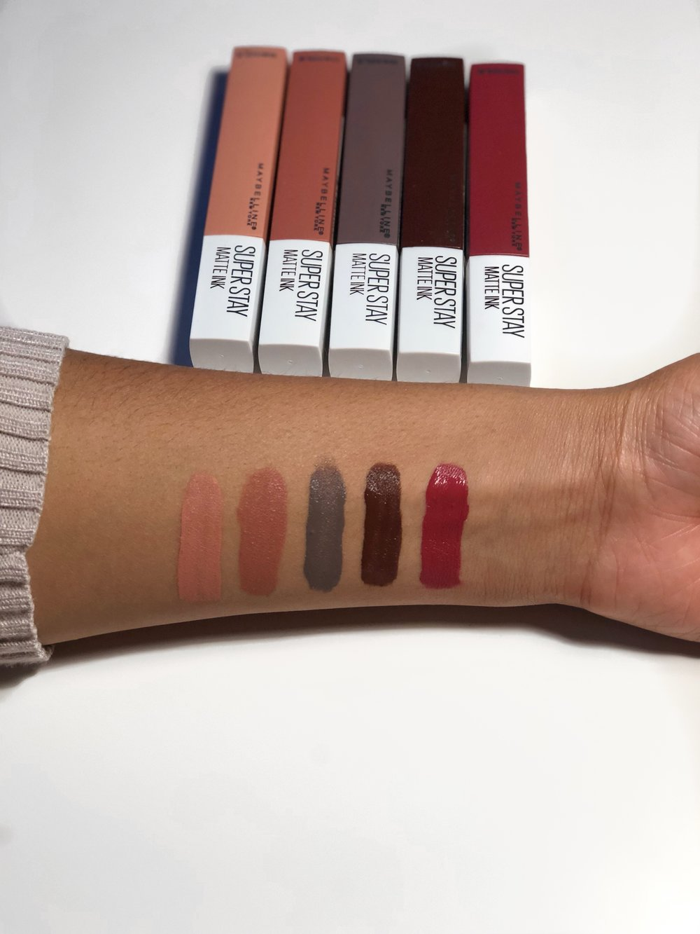 Maybelline Superstay Matte Ink Un Nude Collection Hey Raychh