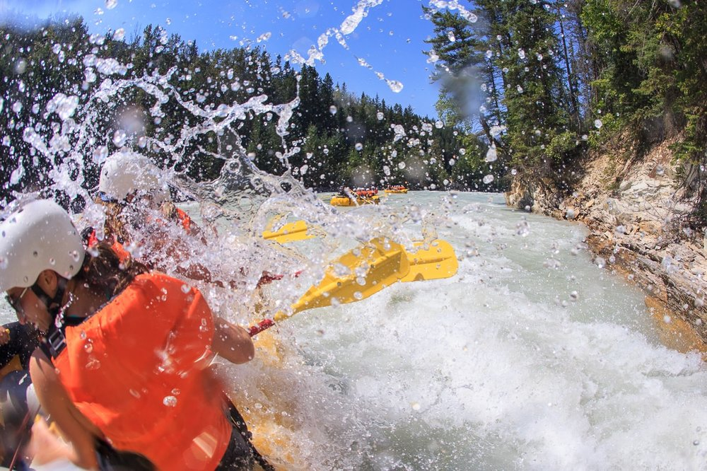 Big Whitewater on the Kicking Horse River