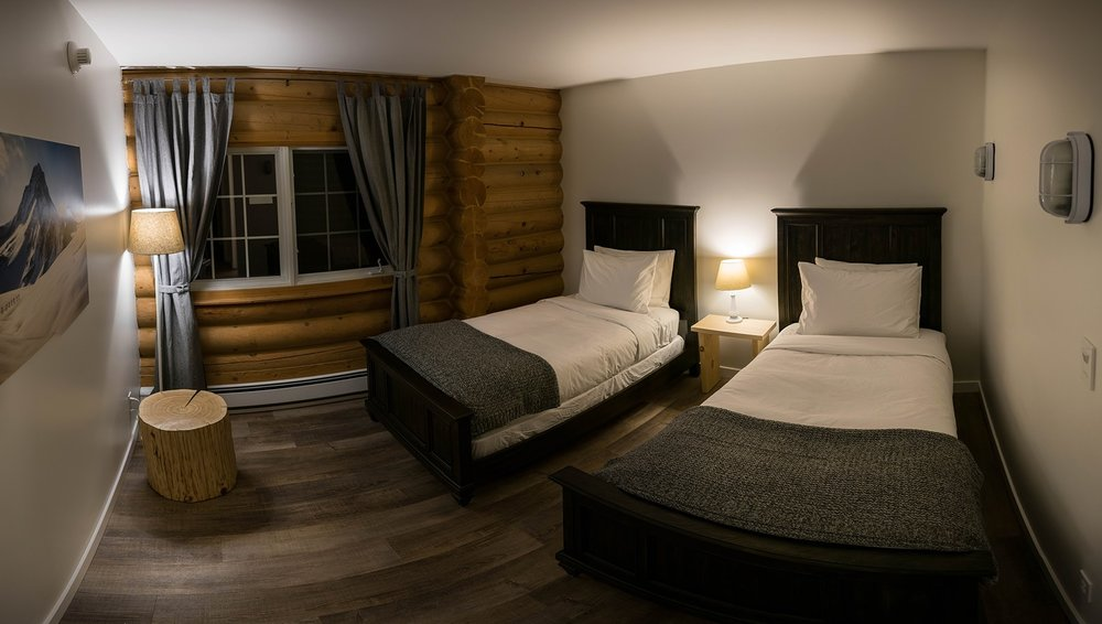 Twin Room at Whitewater Lodge