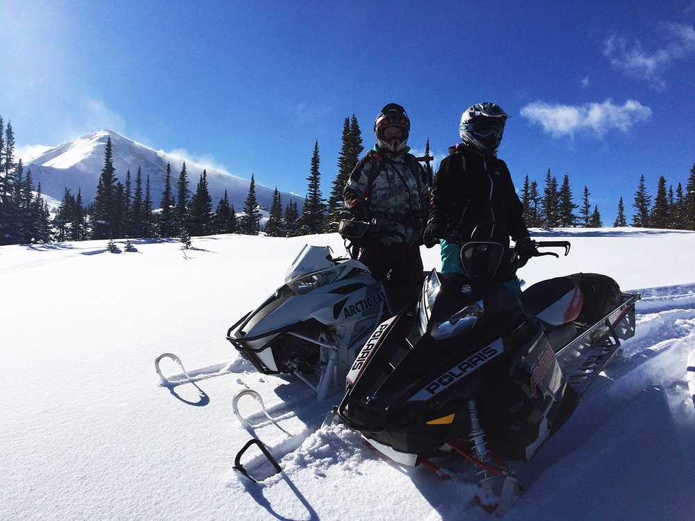 SNOWMOBILE TOURS AND RENTALS  Whether you want to explore Golden's vast backcountry on your own, or with a guided tour, there are several awesome companies in town who can help set you up.