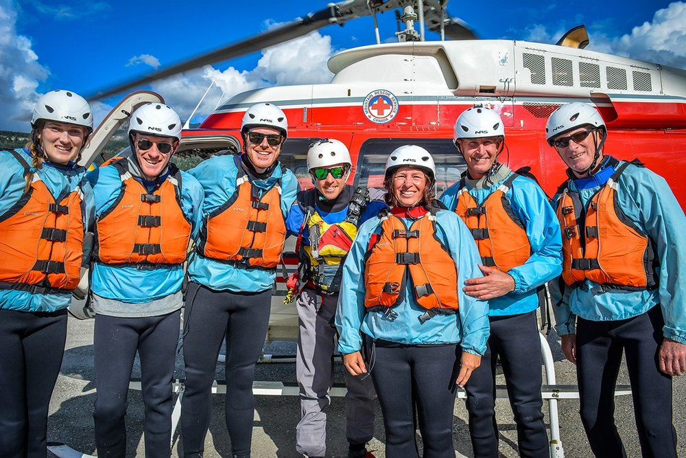 Heli Rafting in Golden, BC