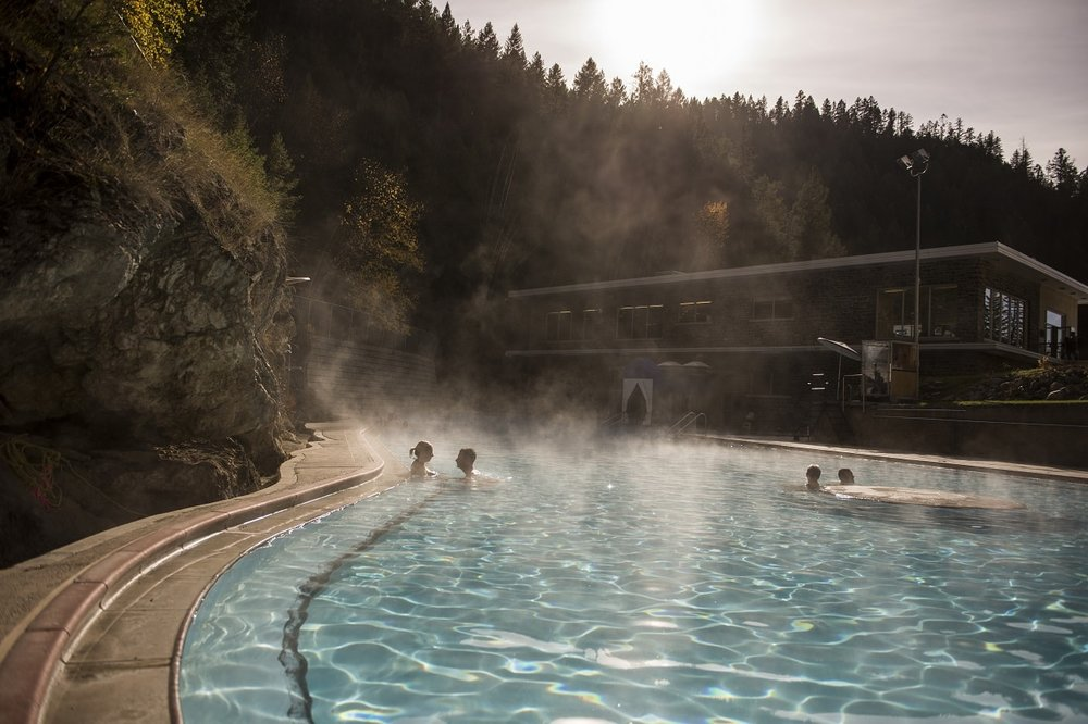 Photo by: Kari Medig; Radium Hot Springs