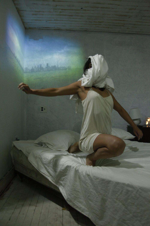 Miami Motel Stories by Juggerknot Theatre  Choreography: Octavio Campos  Performance: Roxana Barba