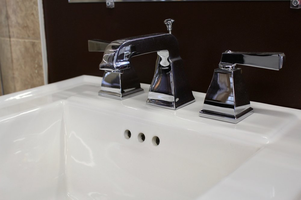 Widespread Chrome Faucet