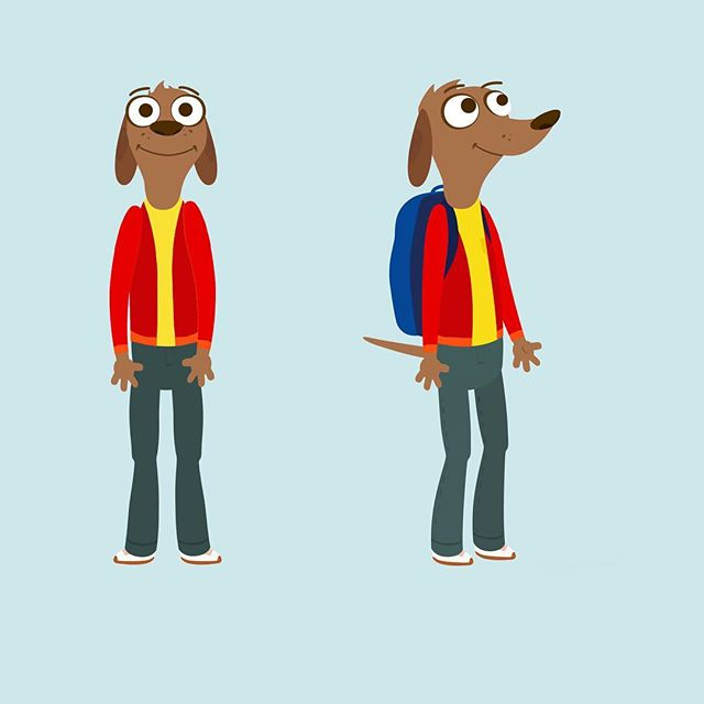Dog characters for a creepy TSA animation brainwashing kids into thinking it's cool get felt up while walking through a microwave. A spoof of this cartoon can be found somewhere on YouTube. #tsa #tsaprecheck #publicserviceannouncement #dogs #animation #cartoon #characterdesign #animals #illustration #kidsart #creepy #ourgovernmentcares